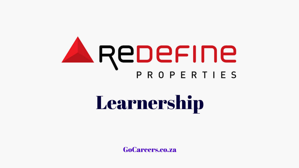 Redefine Learnership Programme South Africa