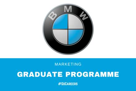 BMW SA Marketing Graduate Programme