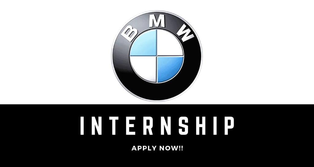 BMW South Africa Internship