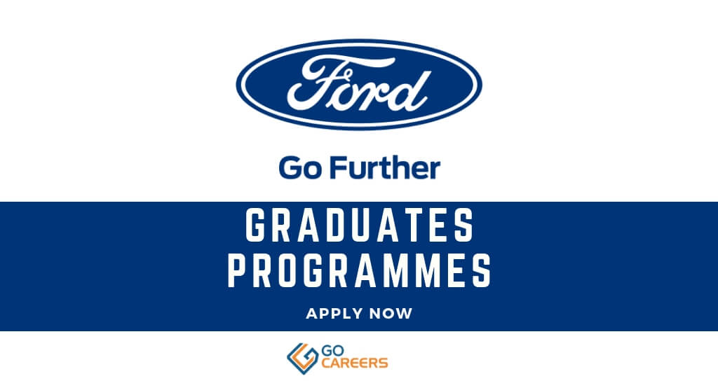 Ford Graduate Trainee Programme South Africa