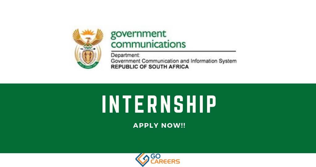 GCIS Internship Programmes
