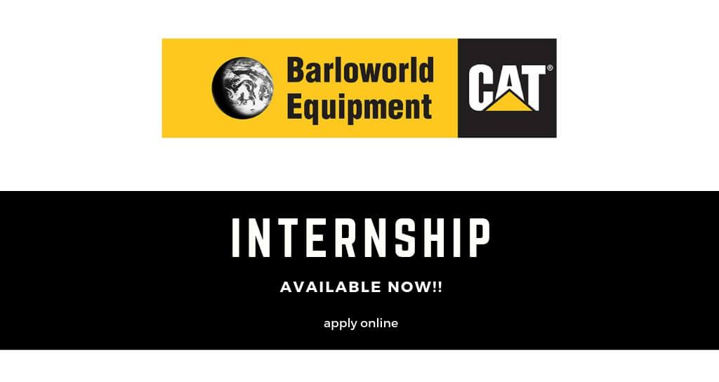 Barloworld Equipment - Human Capital Internship Programme