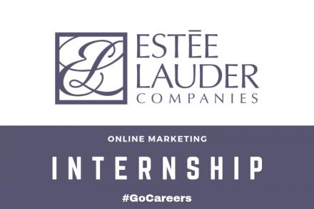 Estée Lauder Online Marketing Internship Programme