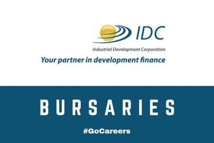 Industrial Development Corporation (IDC) Bursary