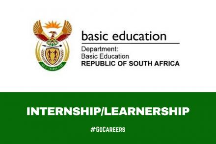 Department of Basic Education Internships & Learnerships