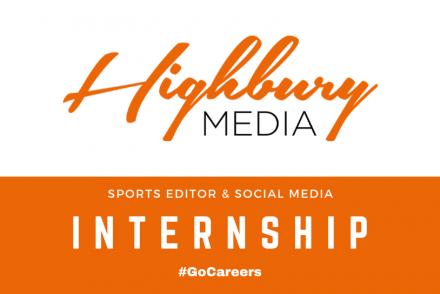 Highbury Media Sports Editor and Social Media Internship