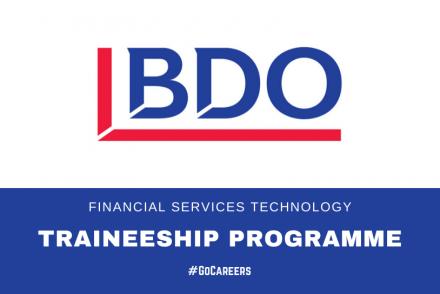 BDO SA Financial Services Technology Traineeship Prorgramme