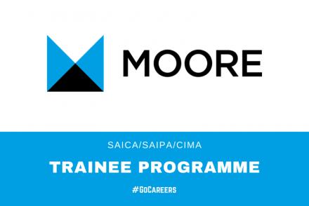Moore SA SAICA-SAIPA-CIMA Trainee Programmes