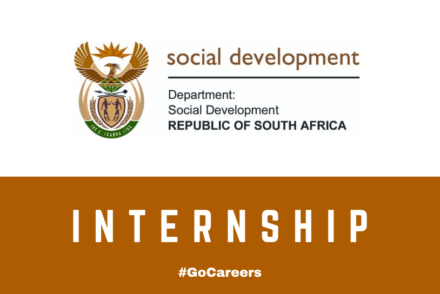 Department of Social Development Internship Programmes