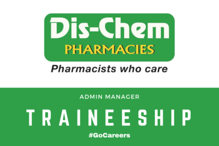 Dis-Chem Admin Manager Trainee Programme