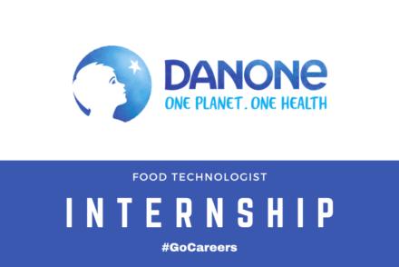 Danone SA Food Technologist Internship Programme