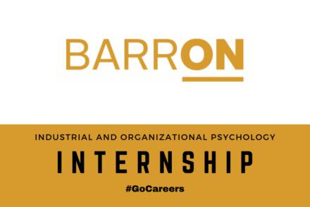Barron Industrial and Organizational Psychology Internship
