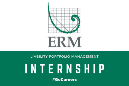 ERM Group Liability Portfolio Management Internship