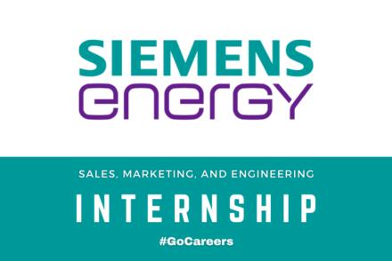 Siemens Energy SA Sales, Marketing, and Engineering Internship