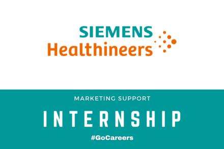 Siemens Healthineers SA Marketing Support Internship