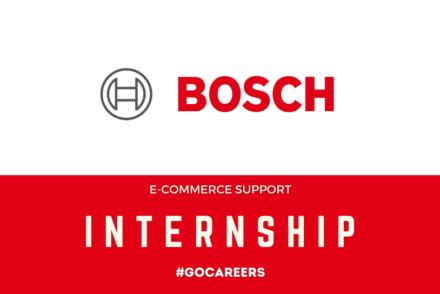 Bosch E-Commerce Support Internship