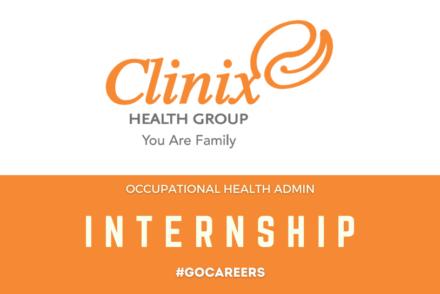 Clinix Occupational Health Admin Internship