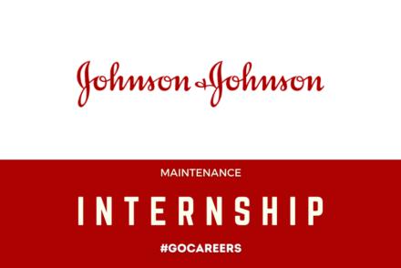 Johnson & Johnson Maintenance Internship