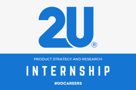 2U Product Strategy and Research Internship