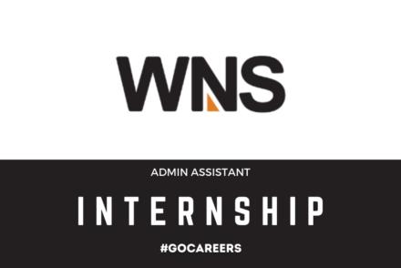 WNS Admin Assistant Internship